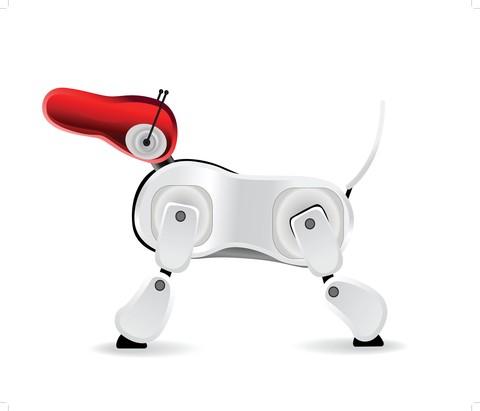 Haustiere und Technologien